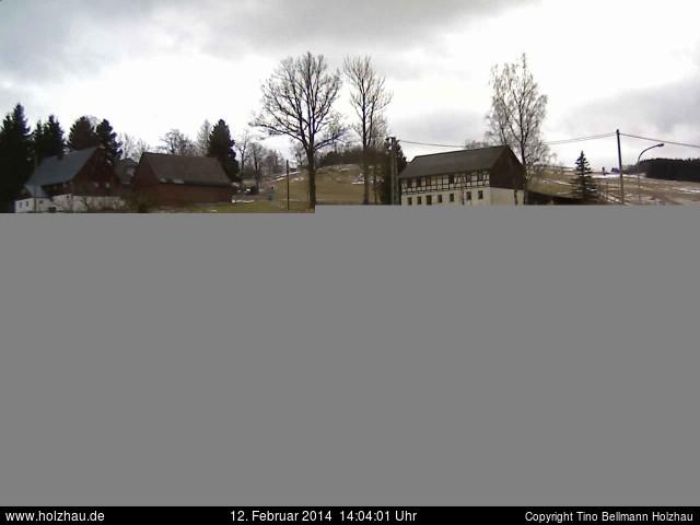 Wetter am 12.02.2014 in Holzhau (Erzgebirge)