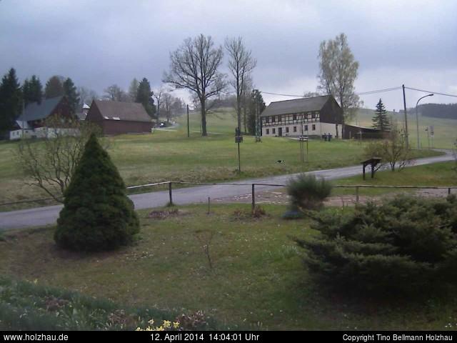 Wetter am 12.04.2014 in Holzhau (Erzgebirge)