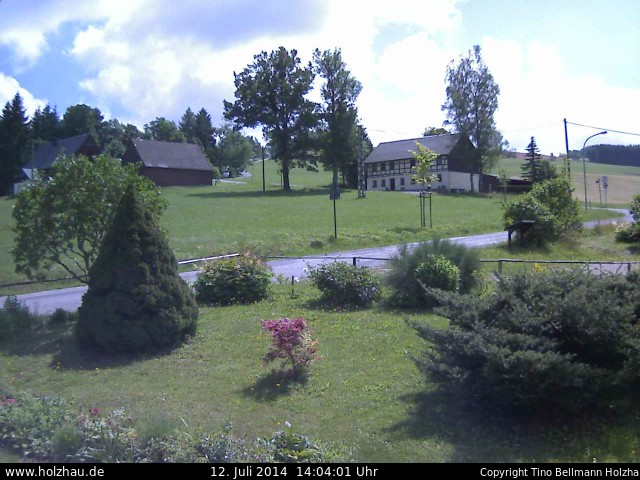 Wetter am 12.07.2014 in Holzhau (Erzgebirge)