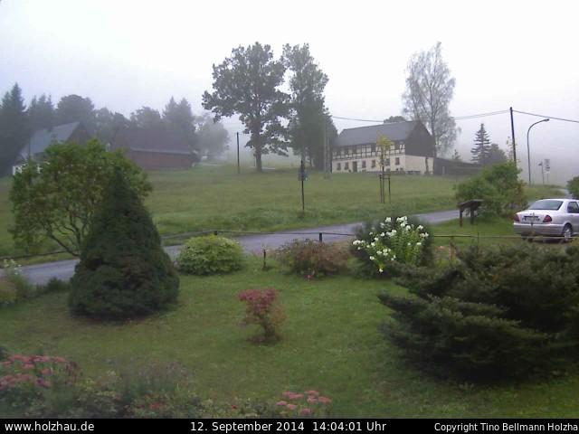Wetter am 12.09.2014 in Holzhau (Erzgebirge)