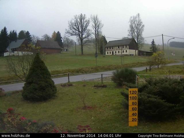 Wetter am 12.11.2014 in Holzhau (Erzgebirge)