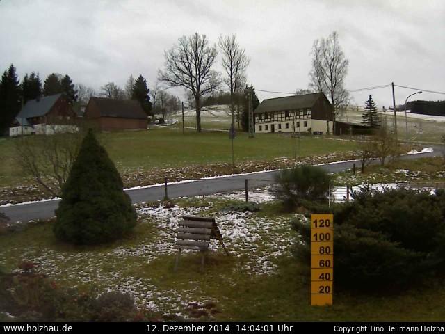 Wetter am 12.12.2014 in Holzhau (Erzgebirge)
