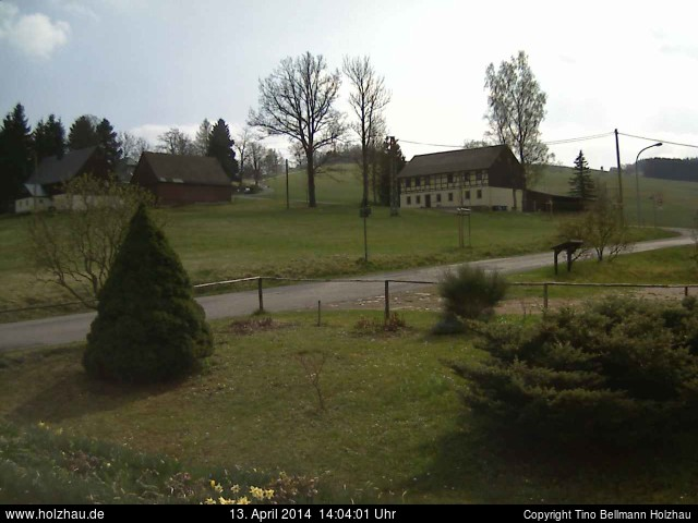 Wetter am 13.04.2014 in Holzhau (Erzgebirge)