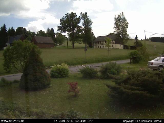 Wetter am 13.06.2014 in Holzhau (Erzgebirge)