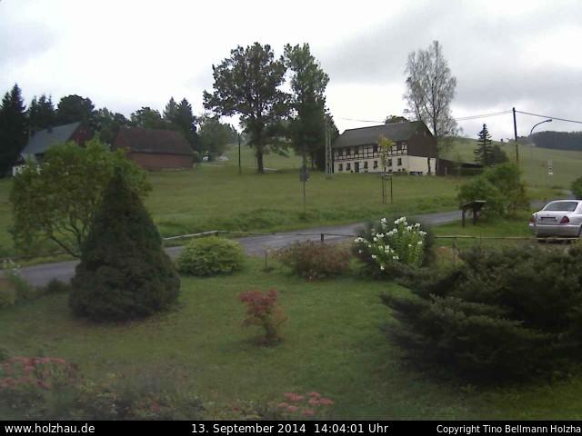 Wetter am 13.09.2014 in Holzhau (Erzgebirge)