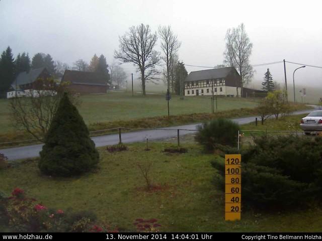 Wetter am 13.11.2014 in Holzhau (Erzgebirge)