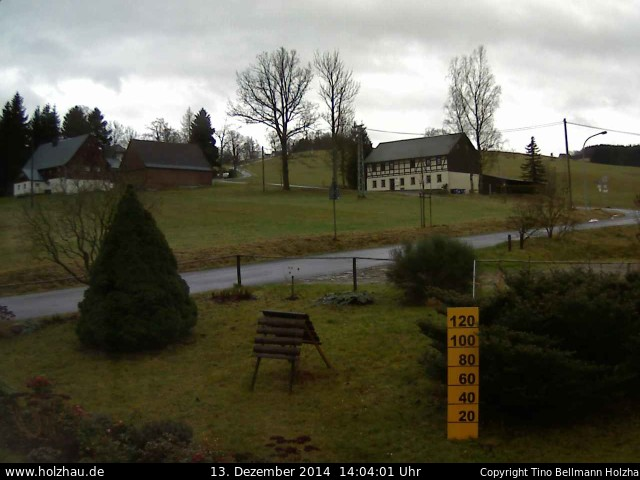 Wetter am 13.12.2014 in Holzhau (Erzgebirge)