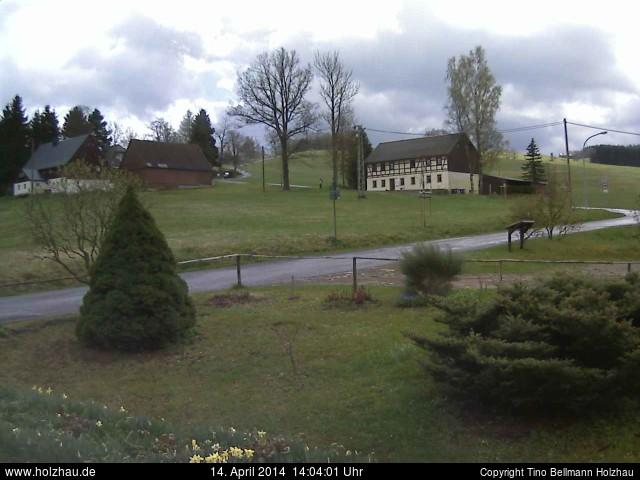 Wetter am 14.04.2014 in Holzhau (Erzgebirge)