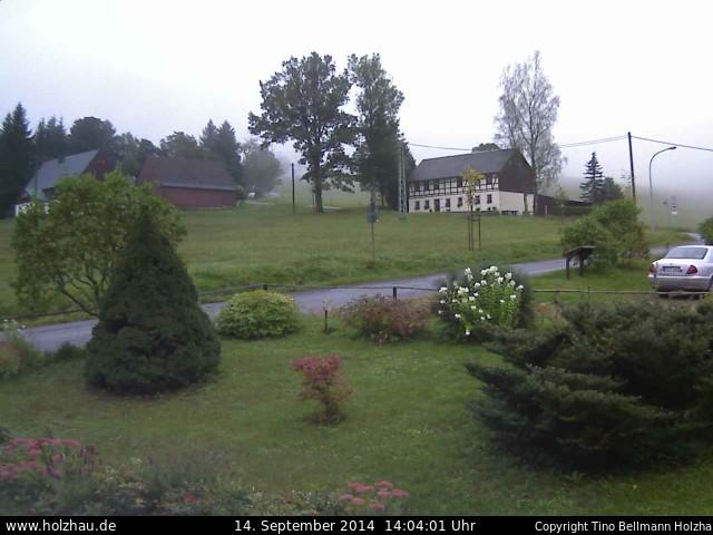 Wetter am 14.09.2014 in Holzhau (Erzgebirge)