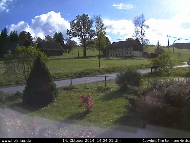 Wetter am 14.10.2014 in Holzhau (Erzgebirge)