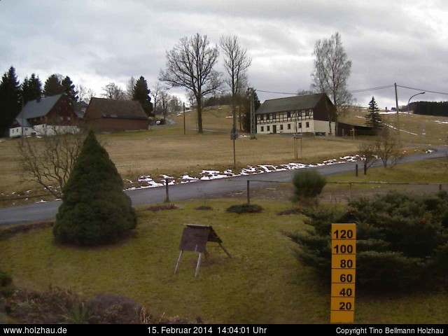 Wetter am 15.02.2014 in Holzhau (Erzgebirge)