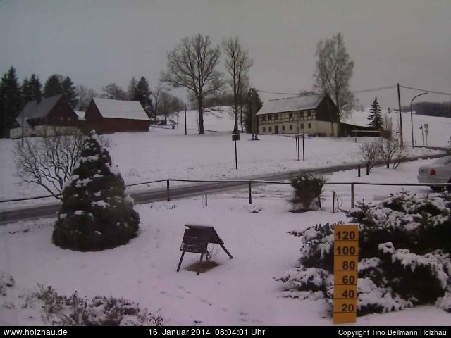 Wetter am 16.01.2014 in Holzhau (Erzgebirge)