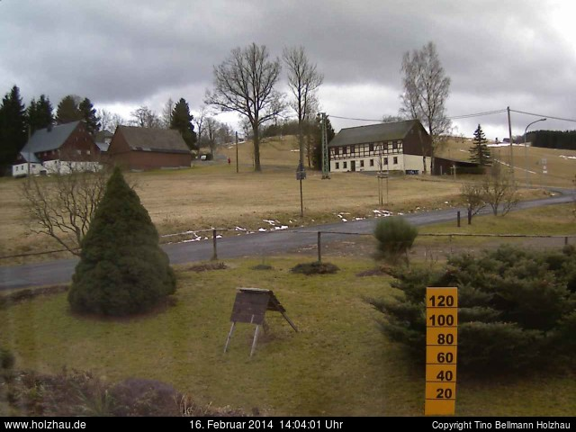 Wetter am 16.02.2014 in Holzhau (Erzgebirge)