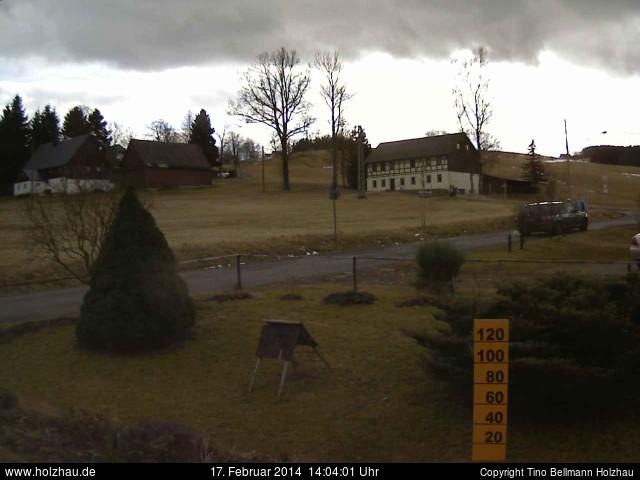 Wetter am 17.02.2014 in Holzhau (Erzgebirge)