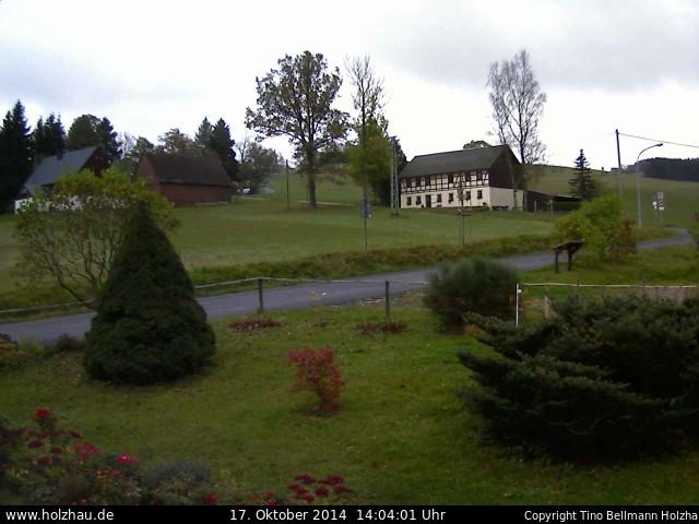 Wetter am 17.10.2014 in Holzhau (Erzgebirge)