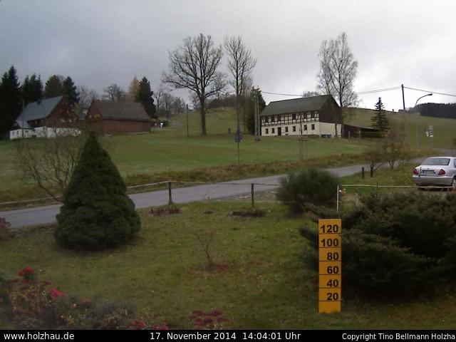 Wetter am 17.11.2014 in Holzhau (Erzgebirge)
