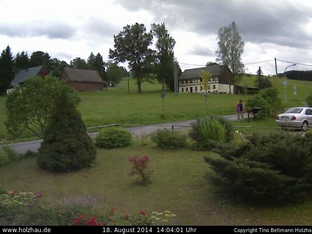 Wetter am 18.08.2014 in Holzhau (Erzgebirge)