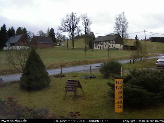 Wetter am 18.12.2014 in Holzhau (Erzgebirge)