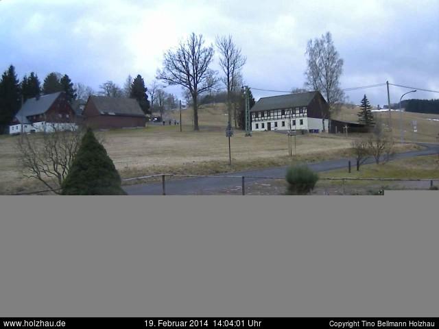 Wetter am 19.02.2014 in Holzhau (Erzgebirge)