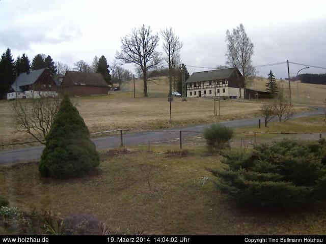 Wetter am 19.03.2014 in Holzhau (Erzgebirge)