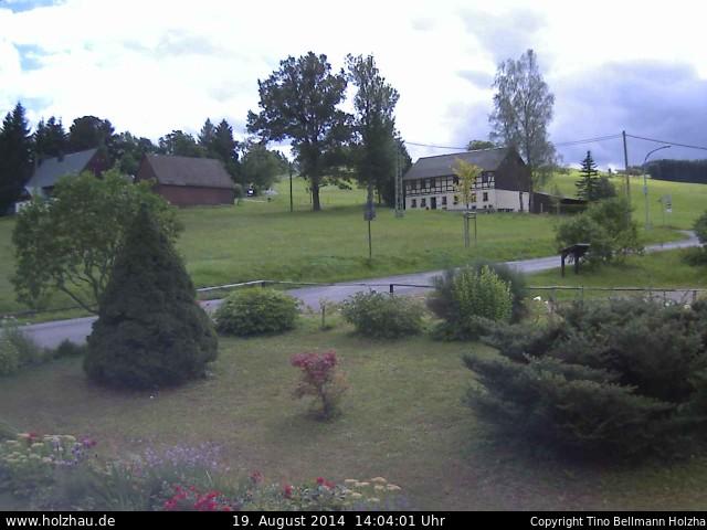 Wetter am 19.08.2014 in Holzhau (Erzgebirge)