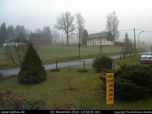 Wetter am 19.11.2014 in Holzhau (Erzgebirge)