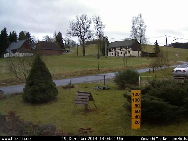 Wetter am 19.12.2014 in Holzhau (Erzgebirge)