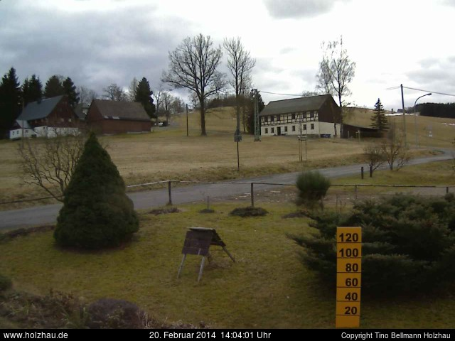 Wetter am 20.02.2014 in Holzhau (Erzgebirge)