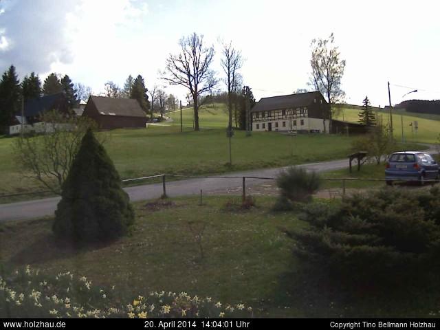 Wetter am 20.04.2014 in Holzhau (Erzgebirge)