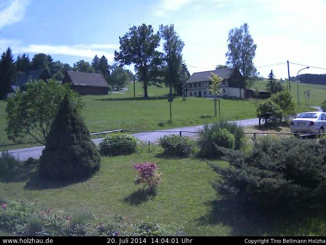 Wetter am 20.07.2014 in Holzhau (Erzgebirge)