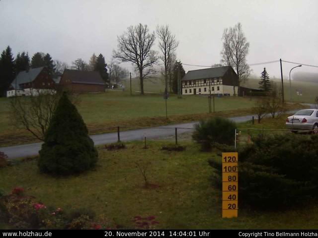 Wetter am 20.11.2014 in Holzhau (Erzgebirge)