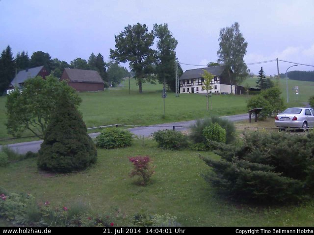 Wetter am 21.07.2014 in Holzhau (Erzgebirge)