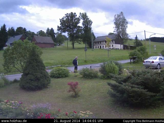 Wetter am 21.08.2014 in Holzhau (Erzgebirge)