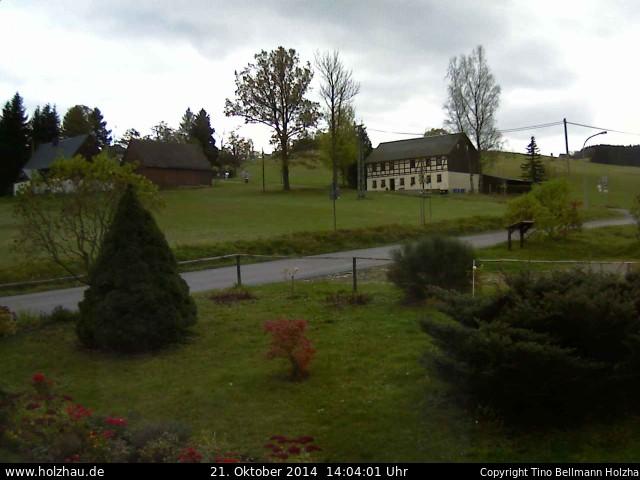Wetter am 21.10.2014 in Holzhau (Erzgebirge)