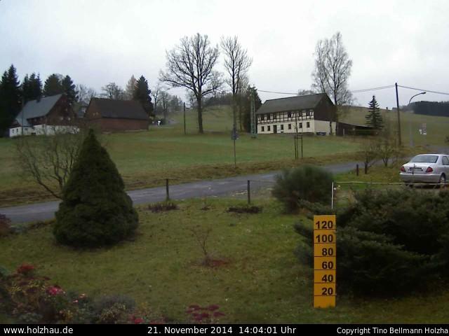 Wetter am 21.11.2014 in Holzhau (Erzgebirge)