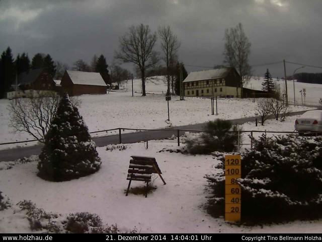 Wetter am 21.12.2014 in Holzhau (Erzgebirge)