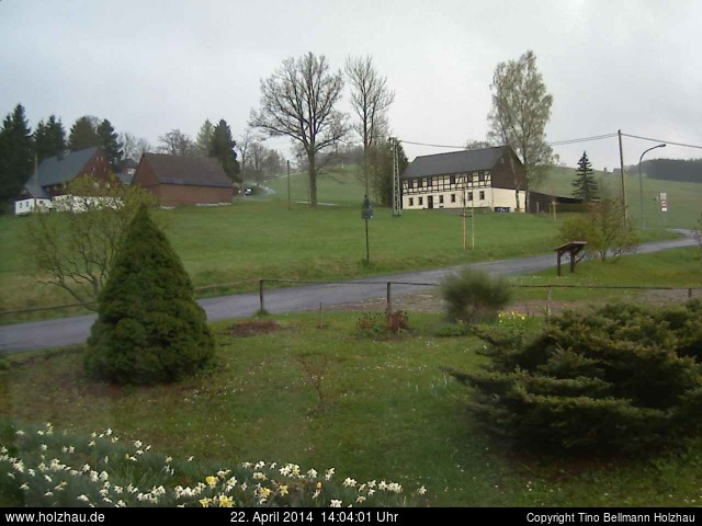 Wetter am 22.04.2014 in Holzhau (Erzgebirge)