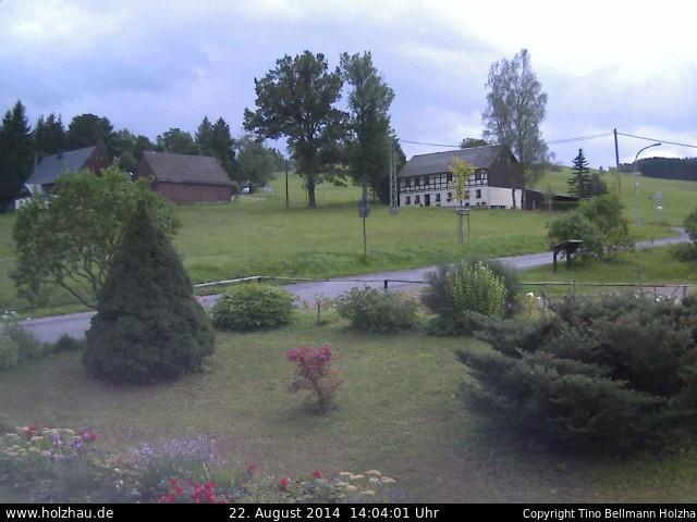 Wetter am 22.08.2014 in Holzhau (Erzgebirge)