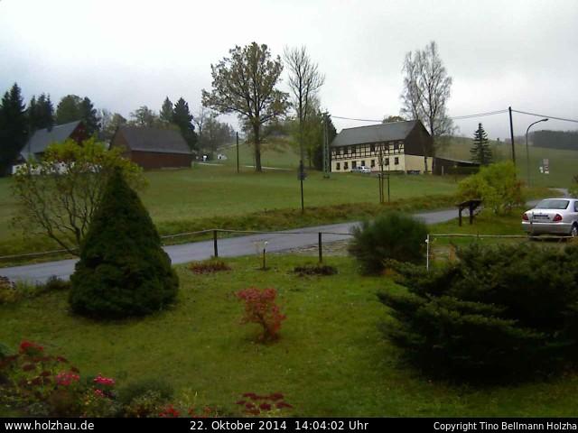 Wetter am 22.10.2014 in Holzhau (Erzgebirge)