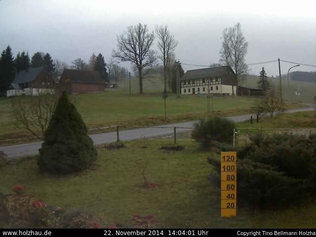Wetter am 22.11.2014 in Holzhau (Erzgebirge)