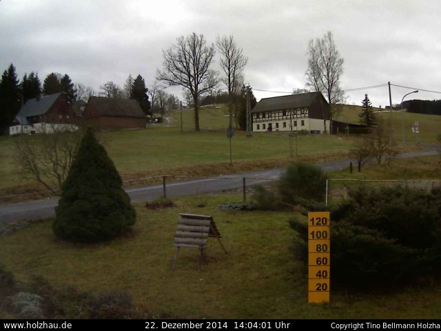 Wetter am 22.12.2014 in Holzhau (Erzgebirge)