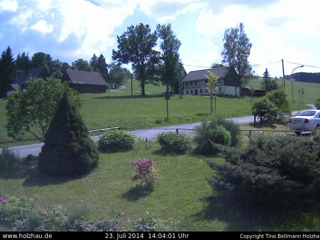 Wetter am 23.07.2014 in Holzhau (Erzgebirge)