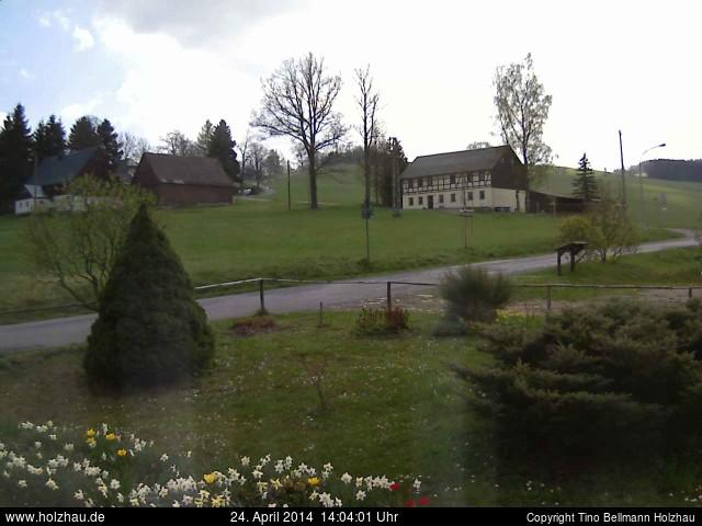 Wetter am 24.04.2014 in Holzhau (Erzgebirge)