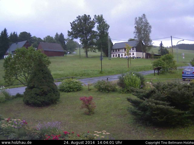 Wetter am 24.08.2014 in Holzhau (Erzgebirge)