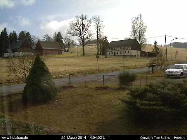 Wetter am 25.03.2014 in Holzhau (Erzgebirge)
