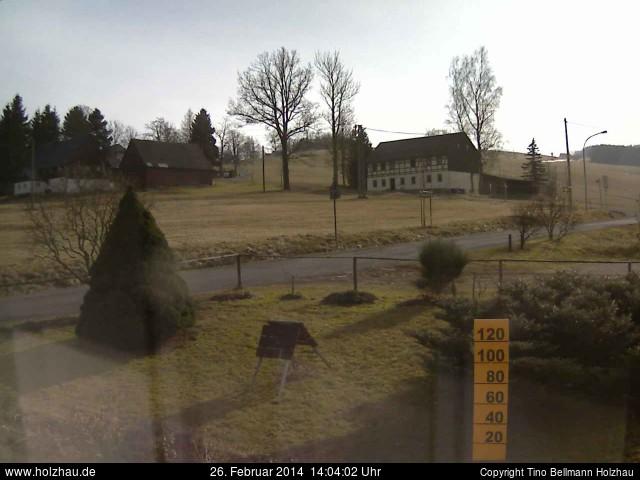 Wetter am 26.02.2014 in Holzhau (Erzgebirge)