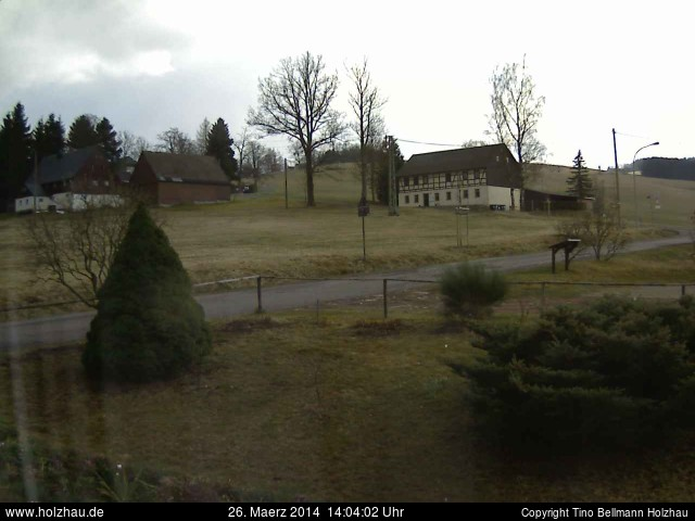 Wetter am 26.03.2014 in Holzhau (Erzgebirge)