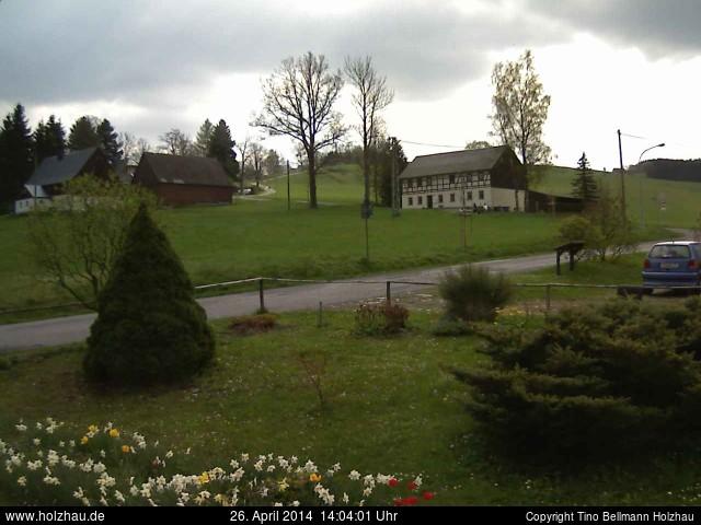 Wetter am 26.04.2014 in Holzhau (Erzgebirge)