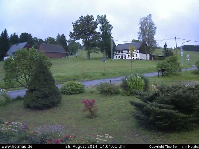 Wetter am 26.08.2014 in Holzhau (Erzgebirge)