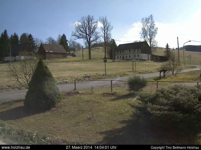 Wetter am 27.03.2014 in Holzhau (Erzgebirge)